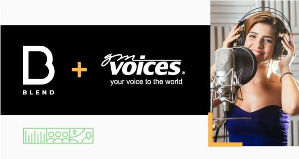 BLEND收購了GM Voices