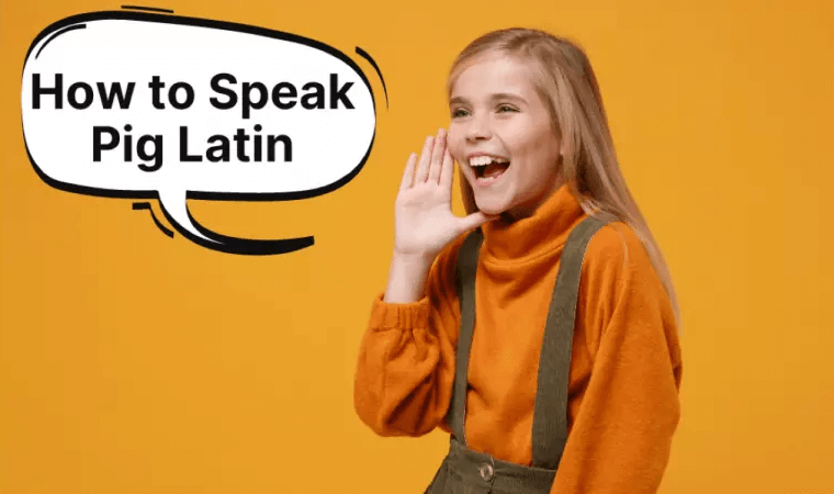 How to speak pig latin with rules
