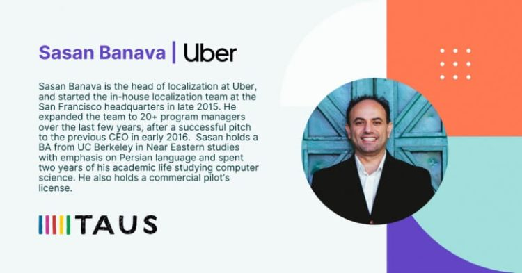 Sasan Banava - Uber _ Taus Conference