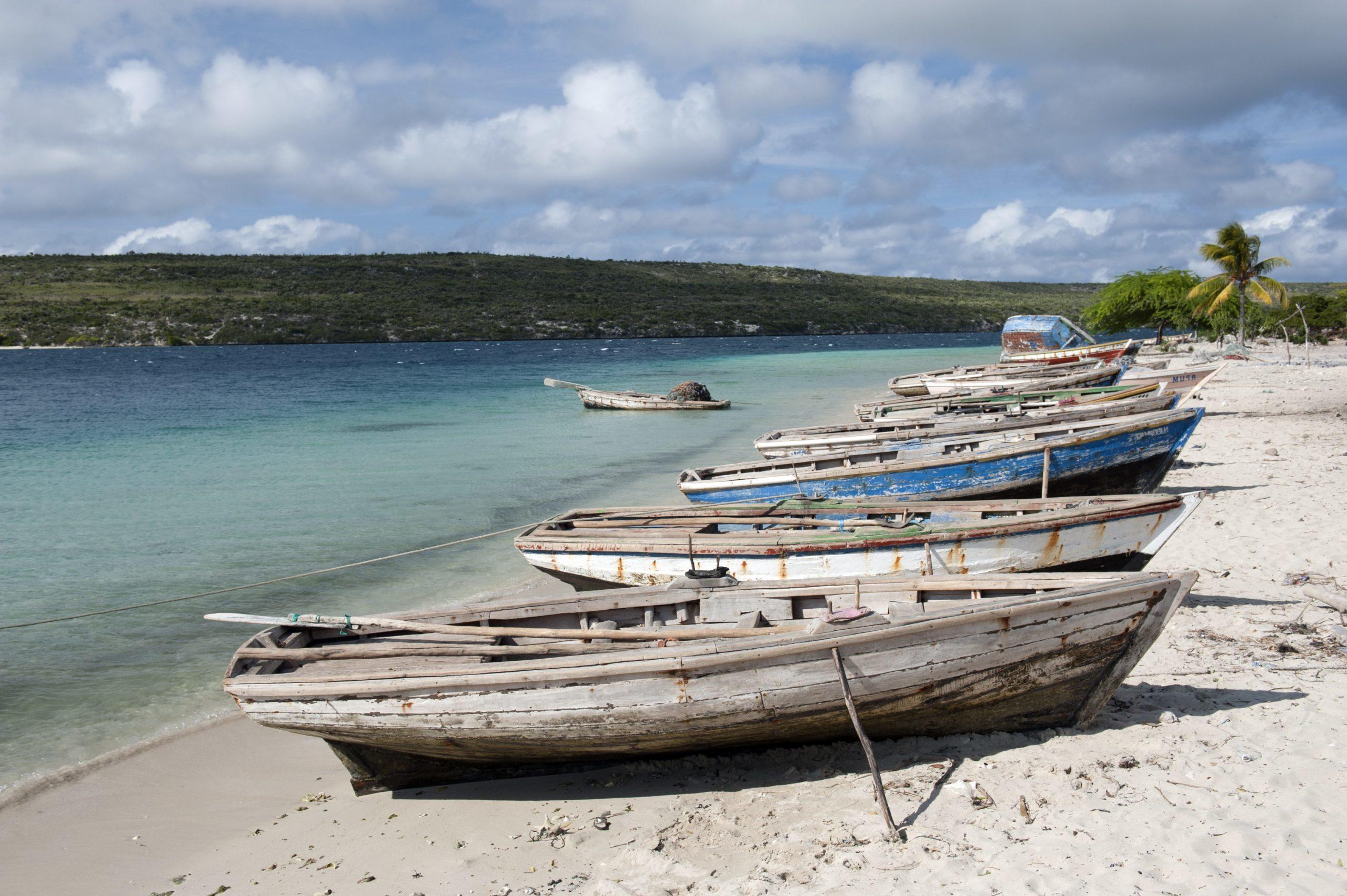 Fischerboote, Carrenage, Haiti