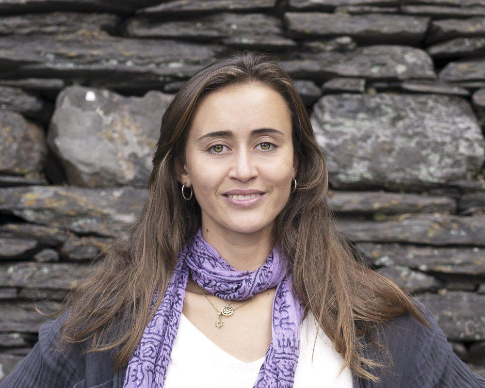 Portrait of young beautiful Norwegian woman