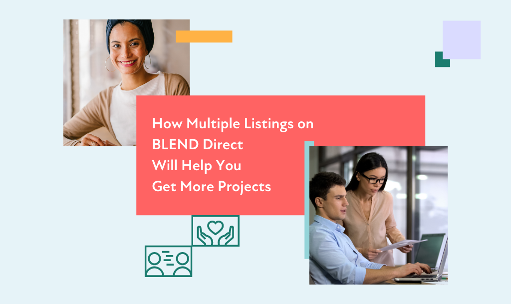 blend direct listings